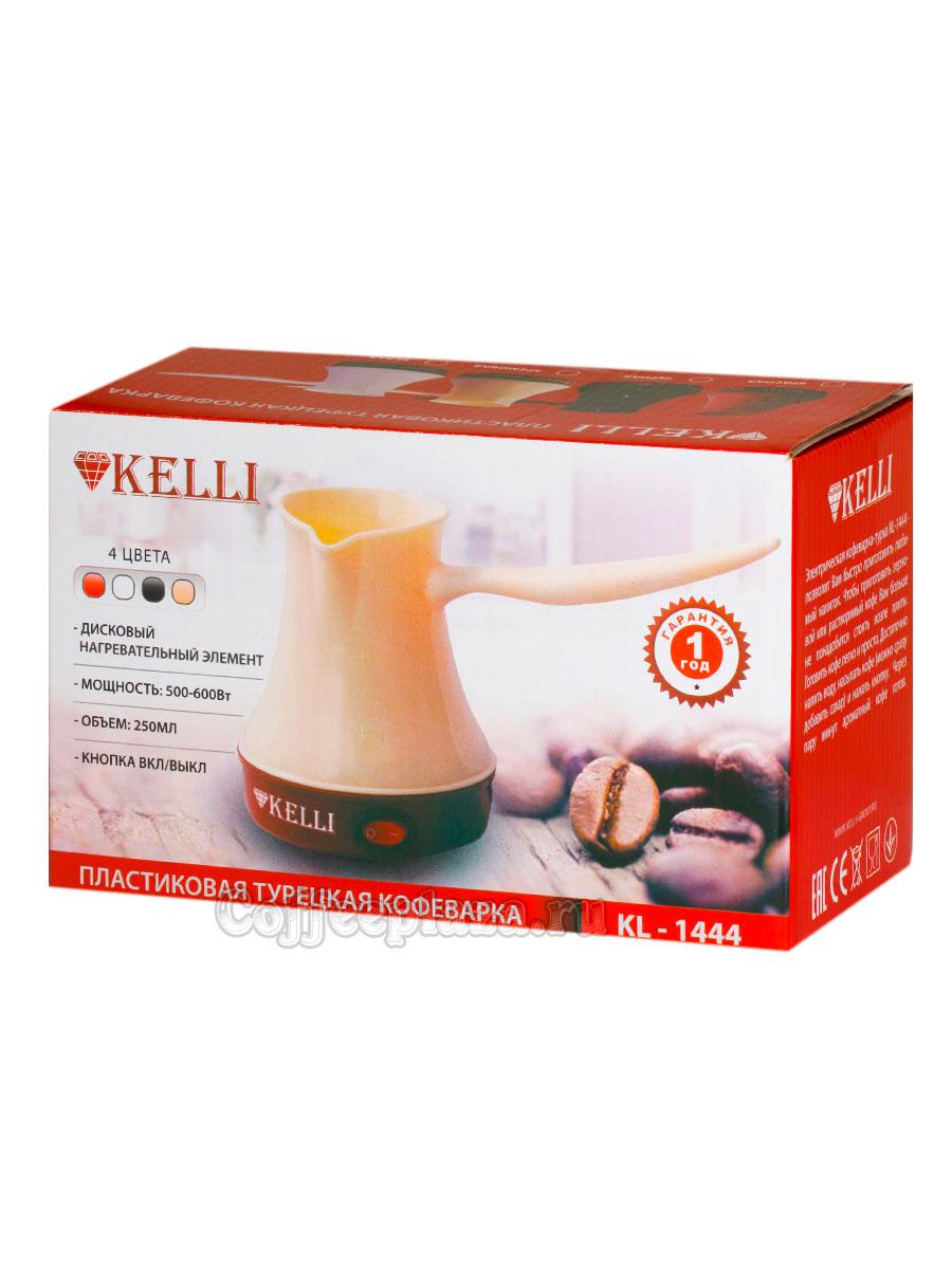 Турка электрическая Kelli KL-1444 (черная)