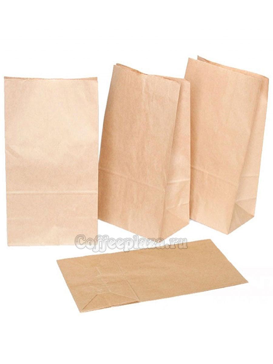 Пакет бумажный Крафт 120-80-330 мм