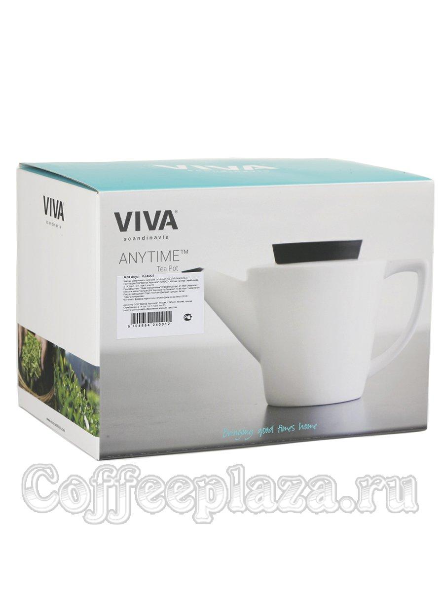 VIVA Infusion Чайник заварочный с ситечком 1 л (V24001) Белый