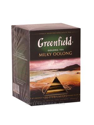 Чай Greenfield Milky Oolong Пирамидки