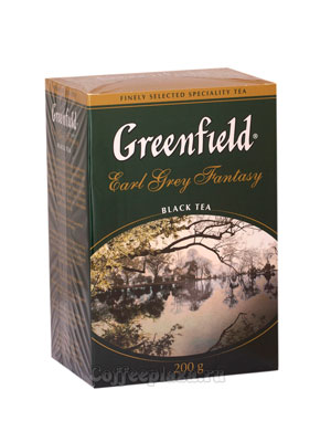 Чай Greenfield Earl Grey Fantasy 200 гр