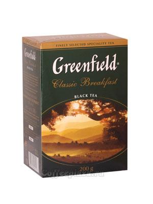 Чай Greenfield Classic Breakfast 200 гр