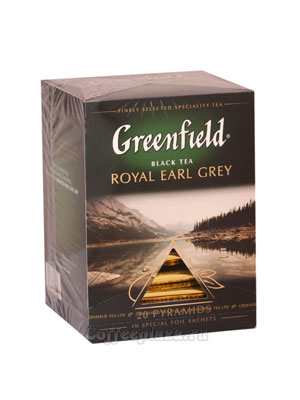 Чай Greenfield Royal Earl Grey Пирамидки