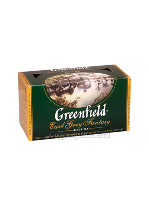 Чай Greenfield Earl Grey Fantasy Пакетики