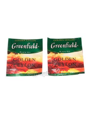 Чай Greenfield Golden Ceylon в Пакете