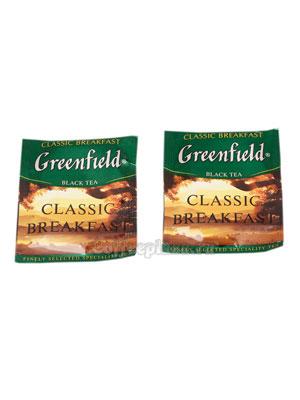 Чай Greenfield Classic Breakfast в Пакете