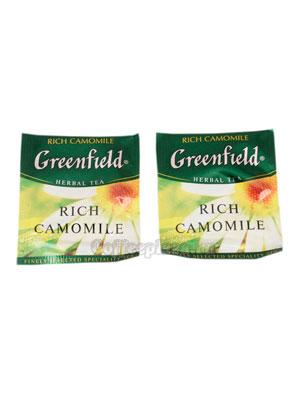 Чай Greenfield Rich Camomile в Пакете