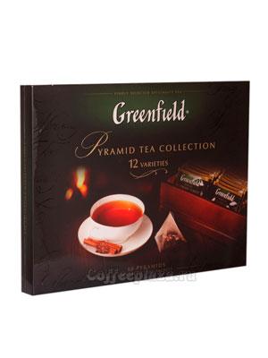 Подарочный чайный набор Greenfield пирамидки из 12 видов 110 гр