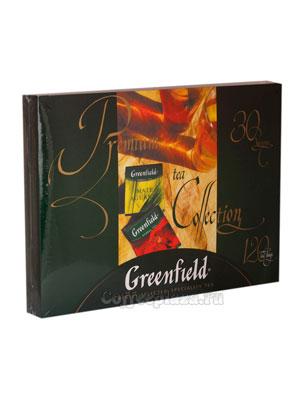 Подарочный чайный набор Greenfield пакетированные из 30 видов 213 гр