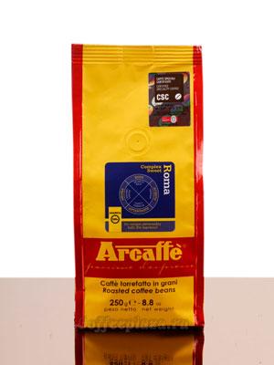 Кофе Arcaffe в зернах Roma 250гр