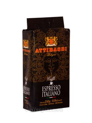 Кофе Attibassi молотый Espresso Italiano 250 гр