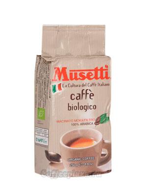 Кофе Musetti молотый Caffe da agricoltura biologica 250 гр