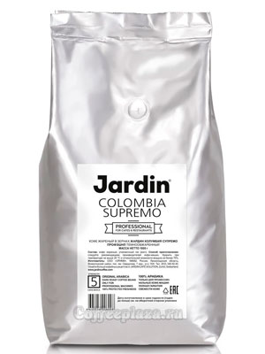 Кофе Jardin в зернах Colombia Supremo Professional 1 кг