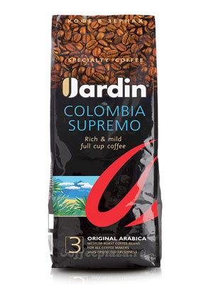 Кофе Jardin в зернах Colombia Supremo 1 кг