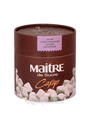 Сахар Maitre тростниковый белый кусковой 270 гр