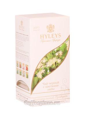 Чай Hyleys Гармония Природы Суприм черный с цветками липы (25 пак 1,5 гр)