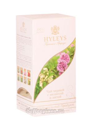 Чай Hyleys Гармония Природы Суприм черный с мелиссой и мятой (25 пак 1,5 гр)