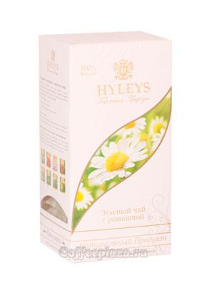 Чай Hyleys Гармония Природы Суприм зеленый с ромашкой (25 пак 1,5 гр)