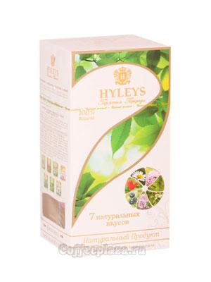 Чай Hyleys Гармония Природы Суприм Ассорти 7 вкусов (25 пак 1,5 гр)