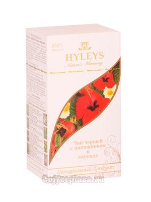 Чай Hyleys Гармония Природы Суприм черный с шиповником и каркаде (25 пак 1,5 гр)