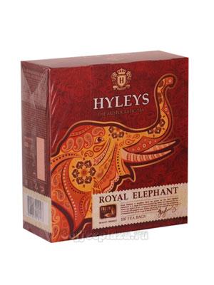 Чай Hyleys Королевский слон ( 100 пак по 1,8 гр двухкам. с ярл.)