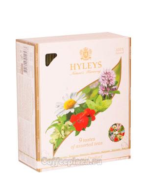 Чай Hyleys Ассорти 9 вкусов в пакетиках 100 шт