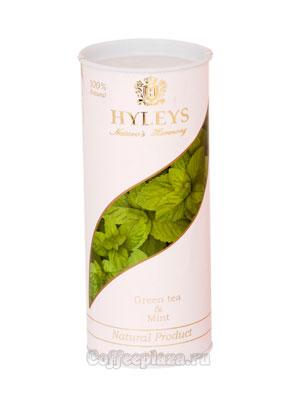 Чай Hyleys Гармония Природы Суприм зеленый с мятой 100 гр (туба)