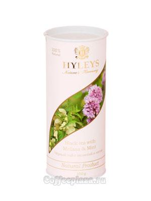 Чай Hyleys Гармония Природы Суприм черный с мелиссой и мятой 100 гр (туба)