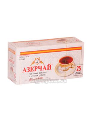 Чай Азерчай Бергамот черный (25 пак.)