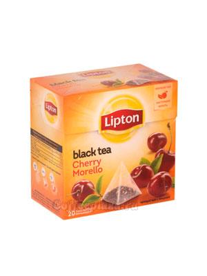 Чай Lipton Cherry Morello фруктовый (20 пирамидок)