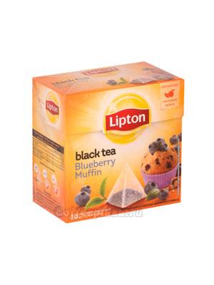 Чай Lipton Blueberry Muffin фруктовый (20 пирамидок)