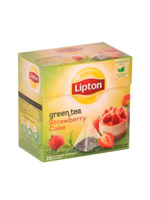 Чай Lipton Strawberry фруктовый (20 пирамидок)