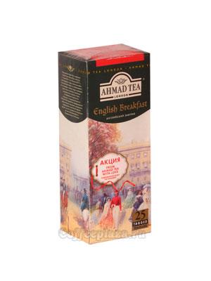 Чай Ahmad Пакет Английский завтрак. Черный, 2гр*25 шт