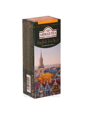 Чай Ahmad Пакет Английский №1. Черный, 2гр*25 шт