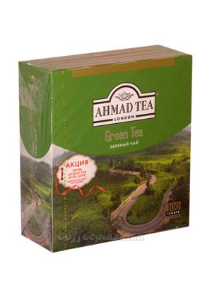 Чай Ahmad Tea Green Tea. Ахмад Зеленый чай в пакетиках