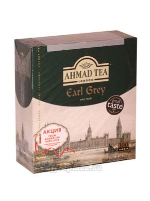 Чай Ahmad Пакет Граф Грей. Черный, 2гр*100 шт