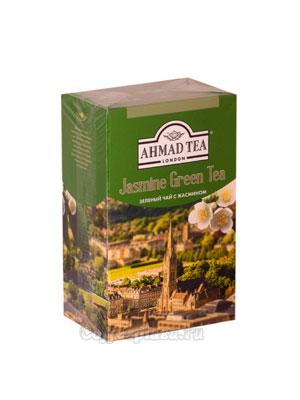 Чай Ahmad Листовой Зеленый с жасмином. 100 гр