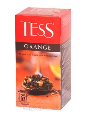 Чай Tess черный Orange (Цедра и апельсин) 25 шт