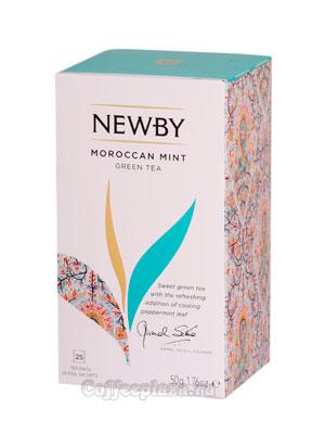 Чай пакетированный Newby Марокканский чай с мятой 25 шт