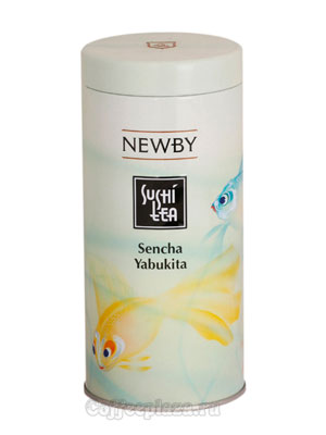 Чай листовой Newby Сенча ябукита суши 100 гр
