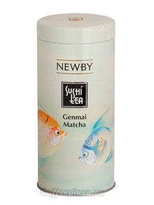 Чай листовой Newby Генмай матча суши 100 гр