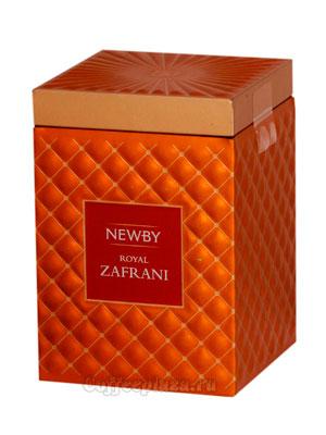 Чай листовой Newby Роял Зафрани гурмэ 75 гр