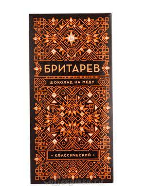 Бритарев шоколад на меду классический 70 гр