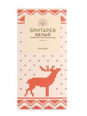 Бритарев шоколад 35 % какао белый классический
