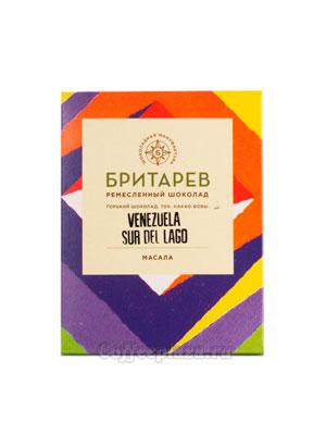 Бритарев шоколад горький 70 % какао масала 30 гр