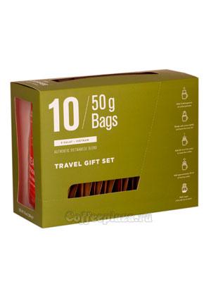 Подарочный набор Star Coffee молотый в пакетах 10 шт (500 гр)
