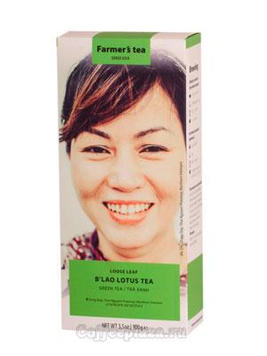 Чай Sense Asia зеленый с лотосом 100 гр