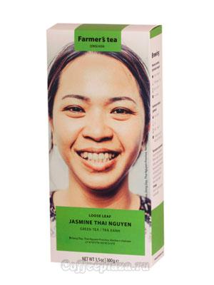 Чай Sense Asia Зеленый с жасмином 100 гр