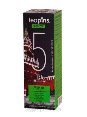 Подарочный набор Sense Asia Moscow Teapins 5 видов зеленого чая