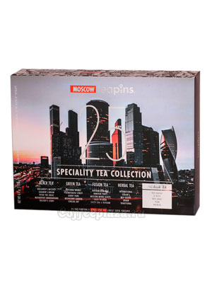 Подарочный набор Sense Asia Moscow Teapins 25 видов чая